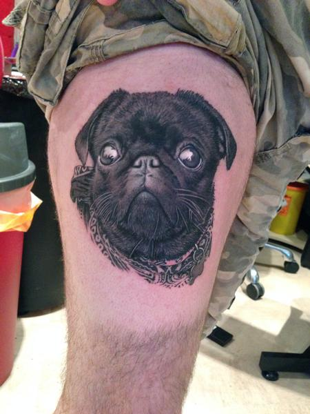 Tattoos - Dog Portrait - 92173